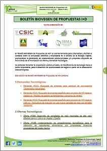 Boletín BIOVEGEN Propuestas I+D. 20 abril 2020