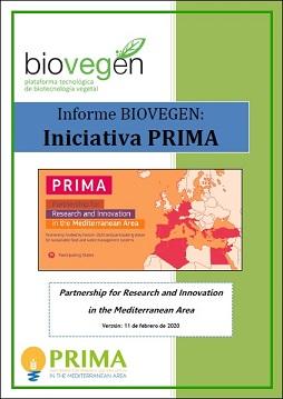 Informe BIOVEGEN. Iniciativa PRIMA 2020