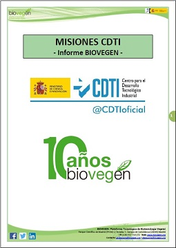 Informe BIOVEGEN. Misiones CDTI