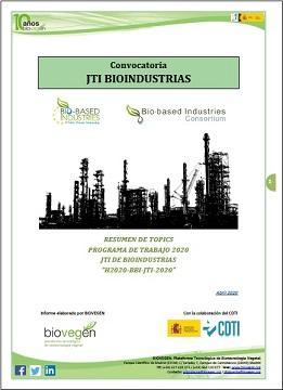 Informe BIOVEGEN. Convocatoria 2020 JTI BIOINDUSTRIAS (Actualización)