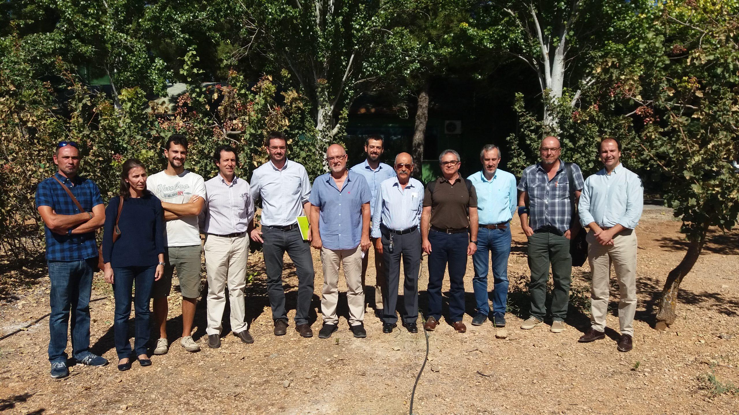I Reunión del Grupo Operativo PISTACIA