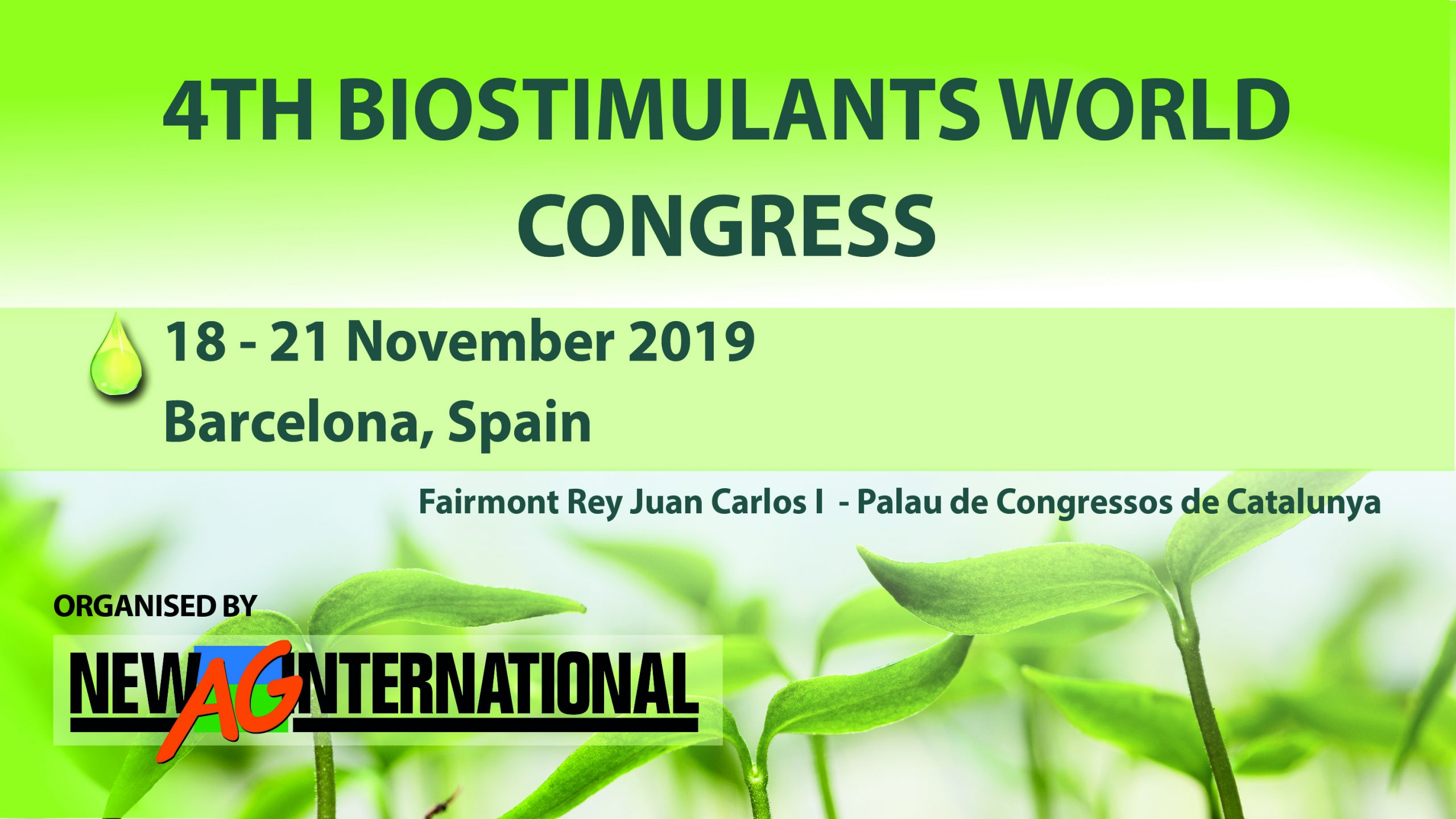 4TH BIOSTIMULANTS WORLD CONGRESS
