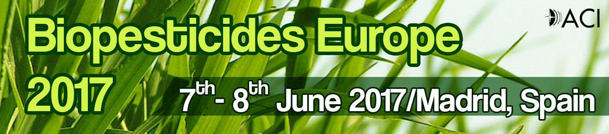 BIOPESTICIDES EUROPE CONFERENCE 2017