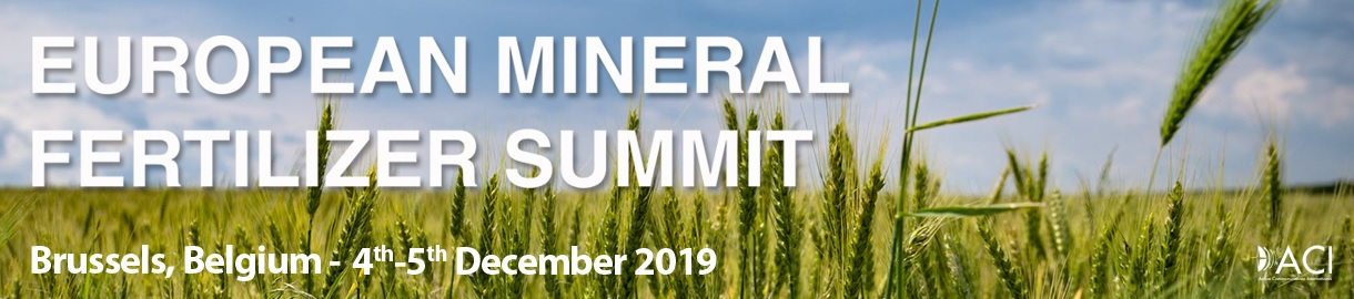EUROPEAN MINERAL FERTILIZER SUMMIT 2019