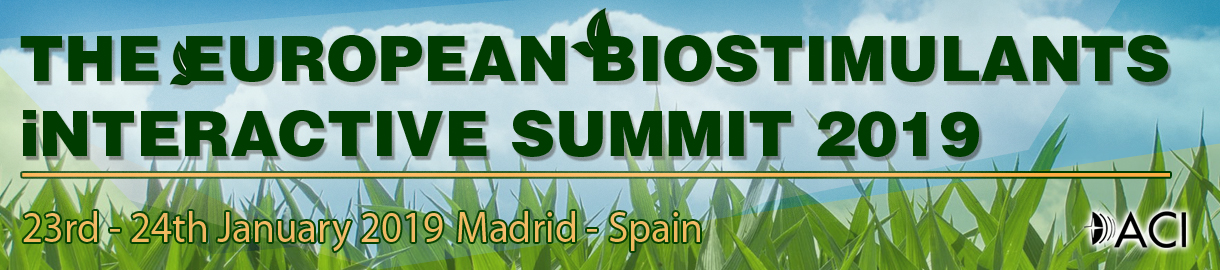 THE EUROPEAN BIOSTIMULANTS INTERACTIVE SUMMIT 2019