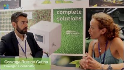 Entrevista al Coordinador de BIOVEGEN en la XXII Reunión de la Sociedad Española de Fisiología Vegetal