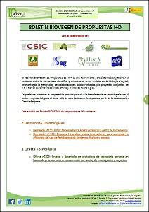 Boletín BIOVEGEN Propuestas I+D. 2 julio 2020
