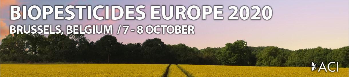 BIOPESTICIDES EUROPE 2020