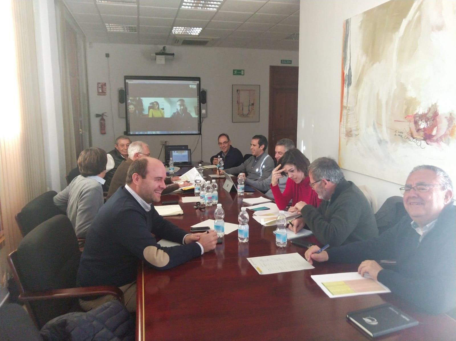 Reunión de lanzamiento del Grupo Operativo GOCITRUS