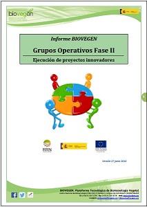 Informe BIOVEGEN: convocatoria EJECUCIÓN GRUPOS OPERATIVOS 2020