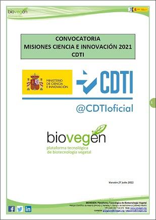 Informe BIOVEGEN. Convocatoria Misiones Ciencia e Innovación 2021